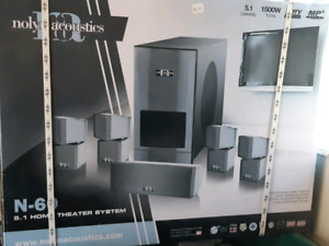 N-60 5.1 Home Theater System Nolan acoustics
