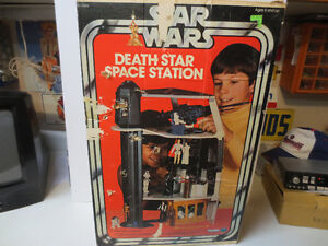 Vintage 1978 Star Wars Death Star Space Station BOX ONLY