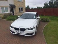 BMW 3 Series 316 Diesel Saloon, 2013 Sport White.