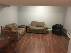 2 bdrm basement suite Bruderheim AB
