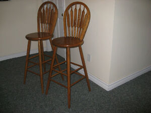 2 matching Bar Stools for sale