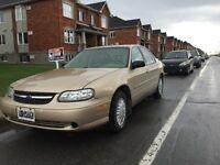 2002 Chevrolet Malibu ***113000KM***UN PROPRIETAIRE***