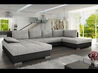 Corner Sofa Bed NELLY MAXI - RIGHT