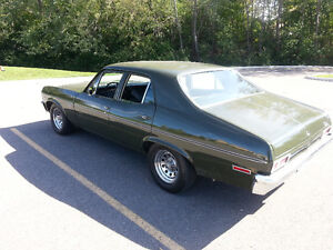 1972 Chevy Nova 350 V8  RWD - 4 DOOR