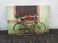 Lovely bike canvas