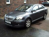 2007 07 TOYOTA AVENSIS 2.0 VVTi T4 5 DOOR MOT MARCH 2022 TRADE IN TO CLEAR