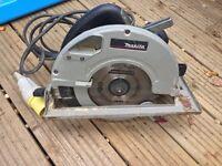 Makita 110v professional circular saw 190mm blade