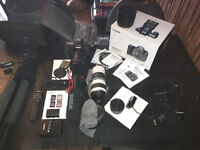 Canon eos 6D, lens,tripod and accessories,