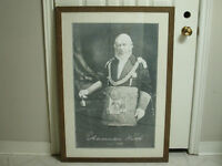 """Alexander Keith """"Circa 1850"""" Large Framed Print BEER RELATED"""