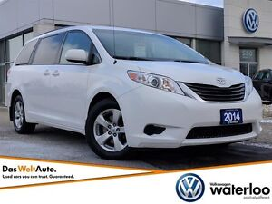 2014 Toyota Sienna LE 8 Pass V6 - One Owner!