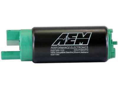 AEM E85 METHANOL ETHANOL 340LPH HIGH FLOW IN-TANK FUEL PUMP PERFORMANCE 50-1200