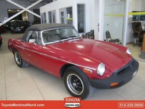MG MGB CONVERTIBLE 1979
