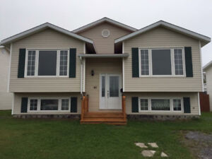 3 Bedroom upper level of a house