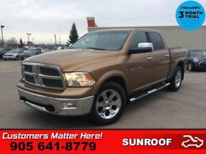 2011 Dodge Ram 1500 Laramie  LEATH ROOF ADJ-PEDALS P/SEATS MEM P