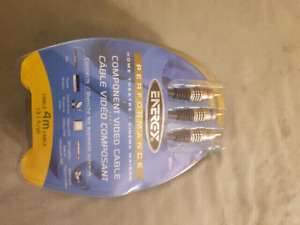 ENERGY PERFORMANCE HOME THEATRE COMPONENT VIDEO CABLES BRAND NEW