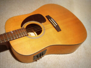 Seagull Acoustic Electric Guitar - $345