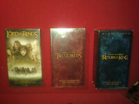 LORD OF THE RINGS TRILOGY - VHS