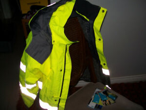 Atlas Copco Size S Jacket Coat High visibility workwear cold men