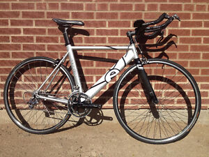 2007 Cervelo Dual Time-Trial, Dura-Ace, mint condition: