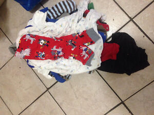 Bunch of baby clothing