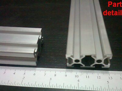 Aluminum T-slot 2040 Extruded Profile 20x40-6 Length 600mm 24 2 Pieces Set