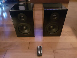 Ultimate W200B powered speakers