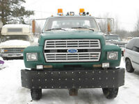 Mililary specification 4x4 ford f700 tow truck