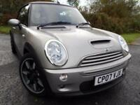 2007 MINI CONVERTIBLE 1.6 COOPER S SIDEWALK 2D 168 BHP