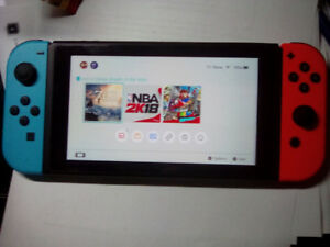 nintendo switch and games