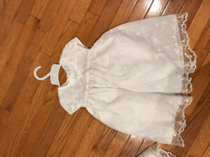 BRAND NEW WHITE CHRISTENING DRESS!