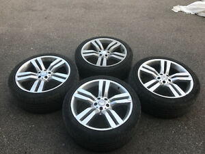 "20"" Mercedes Benz Rims with Pirelli Scorpion tires - 235/45 R20"