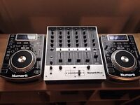 Numark NDX 400 CDJ and M6 Mixer