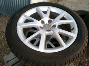 Volkswagon Audi winter tires 225/50 R 18 and rims