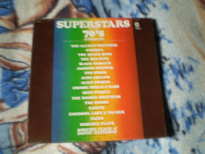 vinyl superstars of the 70 s 4 album set coffret 33 tour Lp