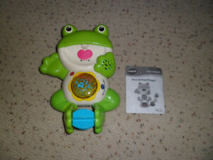 VTECH POUR & FLOAT FROGGY BATH SWIMMING TOY