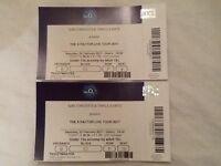 X Factor Live Tour Tickets o2 London