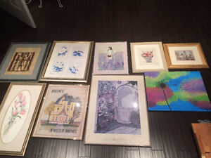 Nice Selection of Fine Prints 4 Your Home Decor & Accents- Fm $5