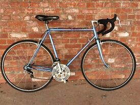VINTAGE LIGHTWEIGHT PEUGEOT ROAD RACING BIKE UPGRADES IDEAL STUDENT COMMUTER BICYCLE MAVIC 700c 600