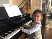 Register now for Music Lessons -Chicopee/Stanley Park or IN HOME