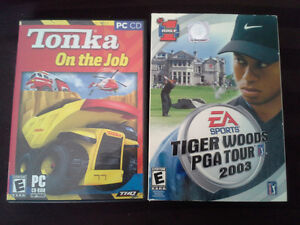 Tiger Woods PGA Tour  Tonka on the Job Pc Game computer