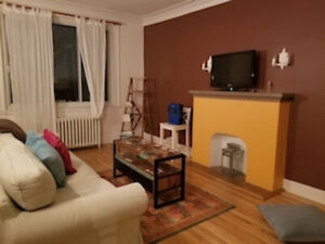 Room for rent in large and sunny apartment