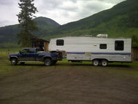 1995 terry 5th wheel trailer 25.5 feet
