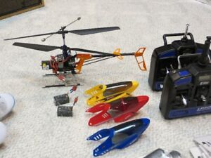 BLADE CX2 COAXIAL ELECTRIC BEGINNER HELICOPTER WITH PARTS