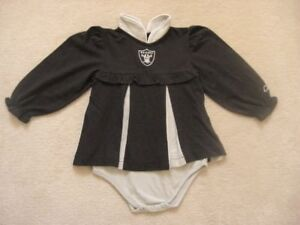 Oakland Raiders NFL Baby Dress