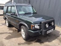 2002 52 Land Rover discovery td5 xs 7 seater