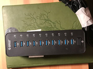 10 Port USB 3.0 Hub - Orico - Normally sells for $70