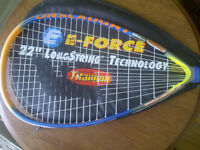 "E-Force Onslaught 22"" Longstring Titanium Racquetball Racquet"