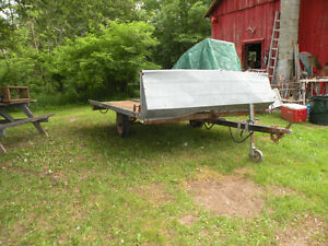 8' x 12' Snowmobile ATV Trailer