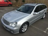 2007 C CLASS ESTATE 220 CDI AUTO,MINT CONDITION,FULL SERVICE HISTORY,2 KEYS,YEAR MOT