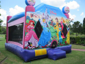 Disney Princess Bouncy Castle Rental and more
